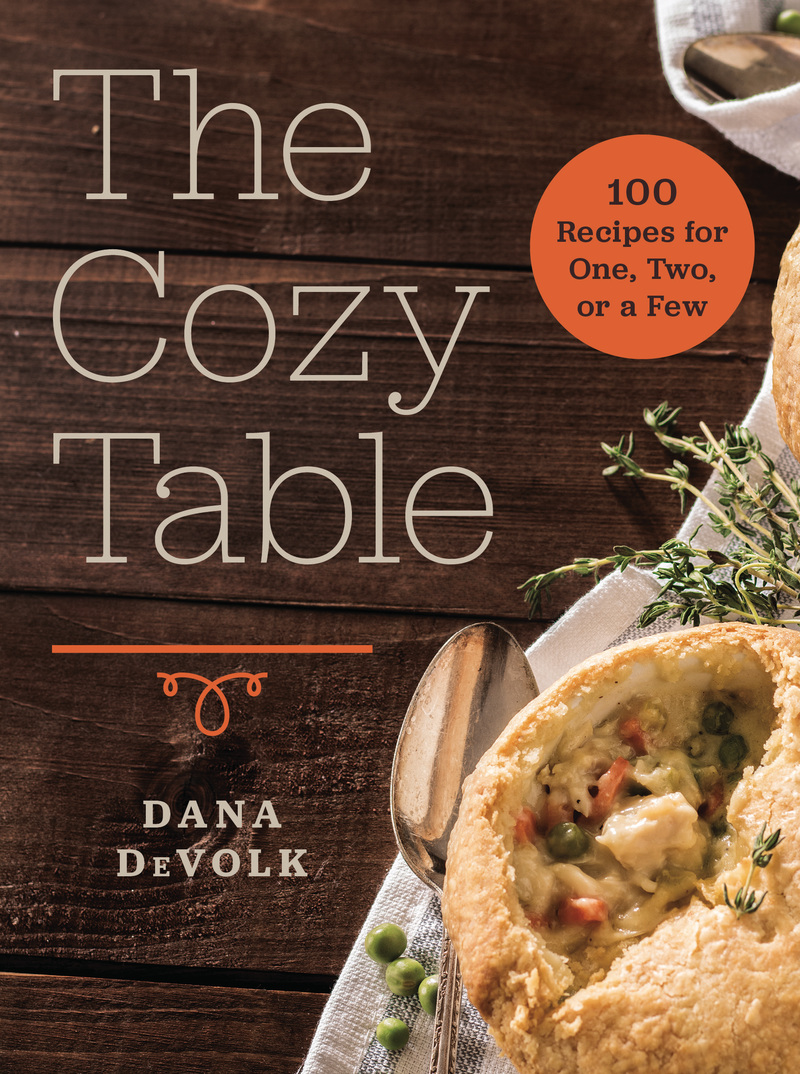 Book cover for The Cozy Table by Dana DeVolk