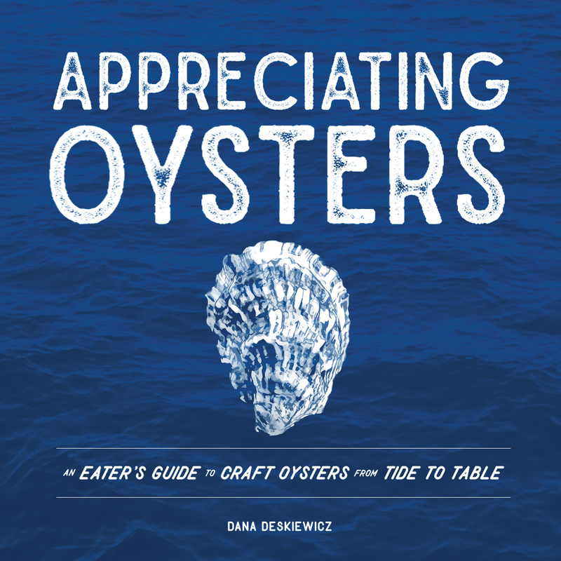 Book cover for Appreciating Oysters by Dana Deskiewicz