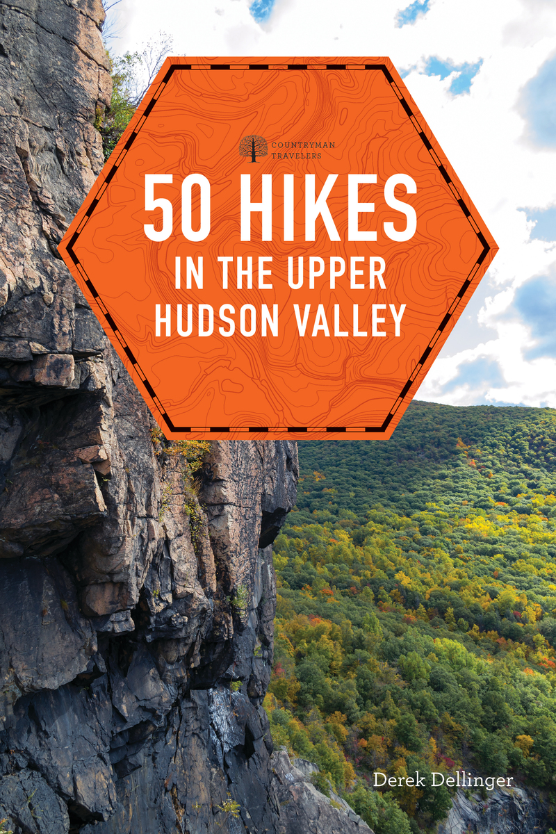 Book cover for 50 Hikes in the Upper Hudson Valley by Derek Dellinger
