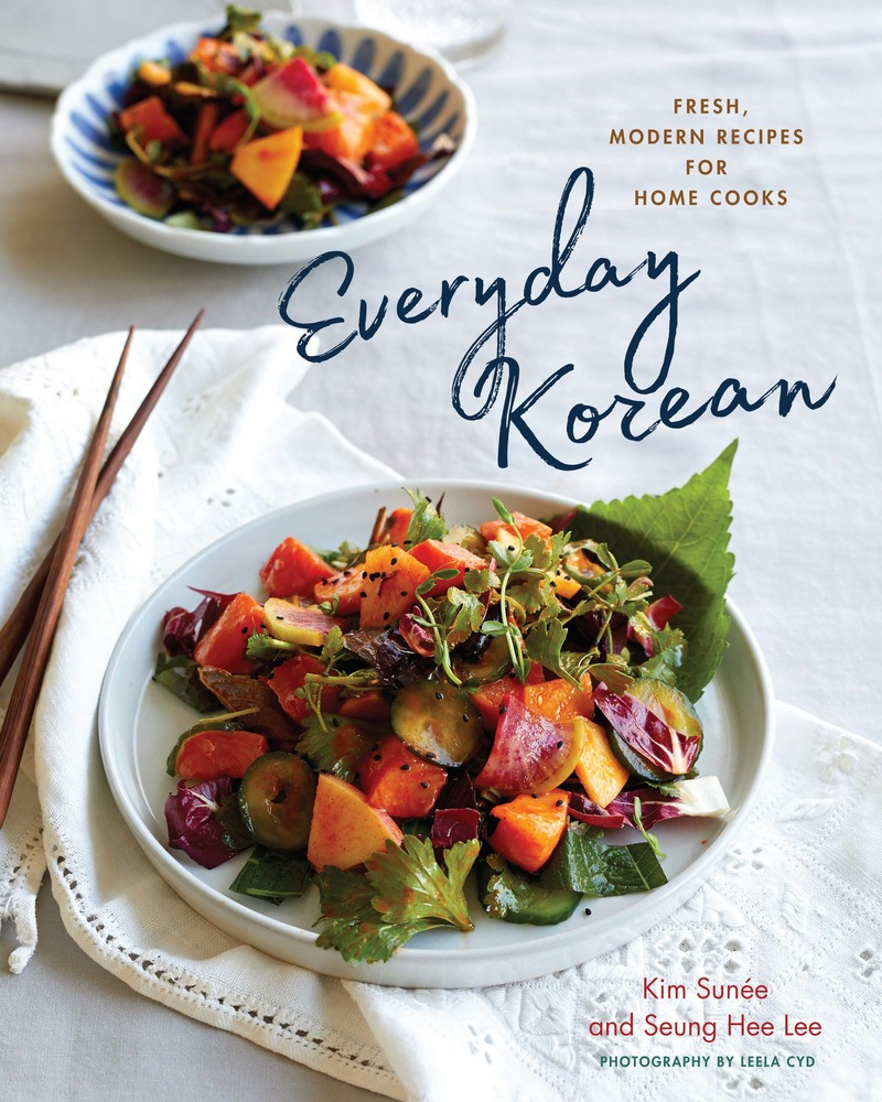 Book cover for Everyday Korean by Kim Sunée