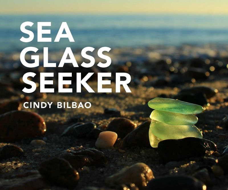 Book cover for Sea Glass Seeker by Cindy Bilbao