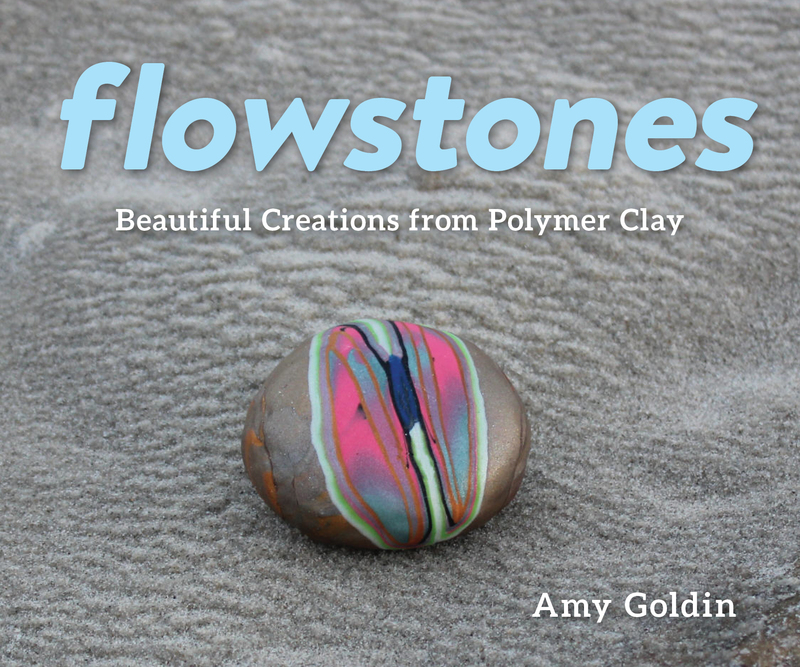 Book cover for Flowstones by Amy Goldin