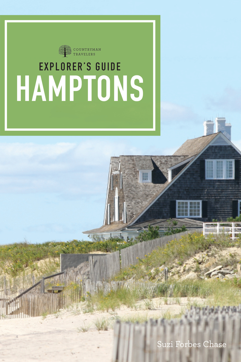 Book cover for Explorer's Guide Hamptons by Suzi Forbes Chase