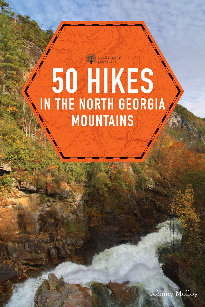 Book cover for 50 Hikes in the North Georgia Mountains by Johnny Molloy