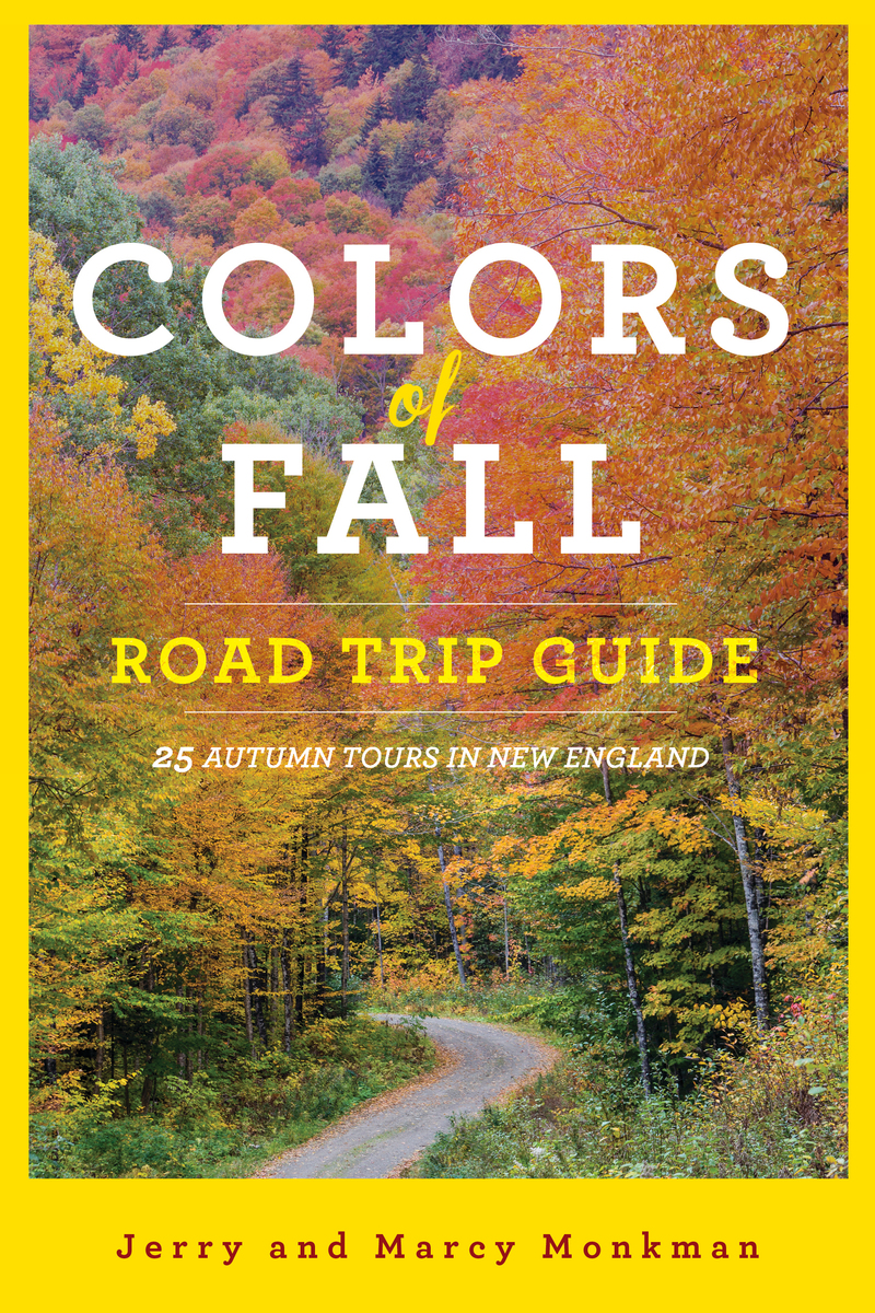 Book cover for Colors of Fall Road Trip Guide by Jerry Monkman