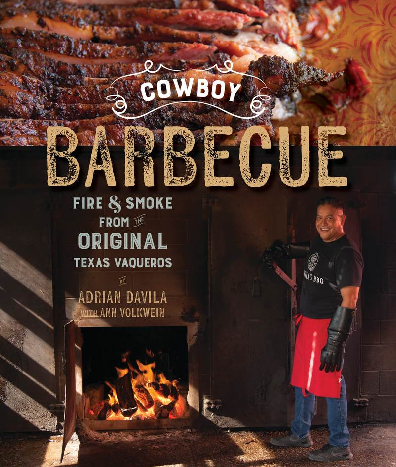 Book cover for Cowboy Barbecue by Adrian Davila