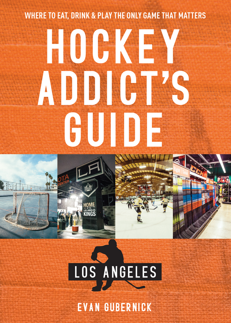 Book cover for Hockey Addict's Guide Las Vegas by Evan Gubernick