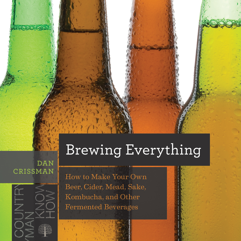 Book cover for Brewing Everything by Dan Crissman