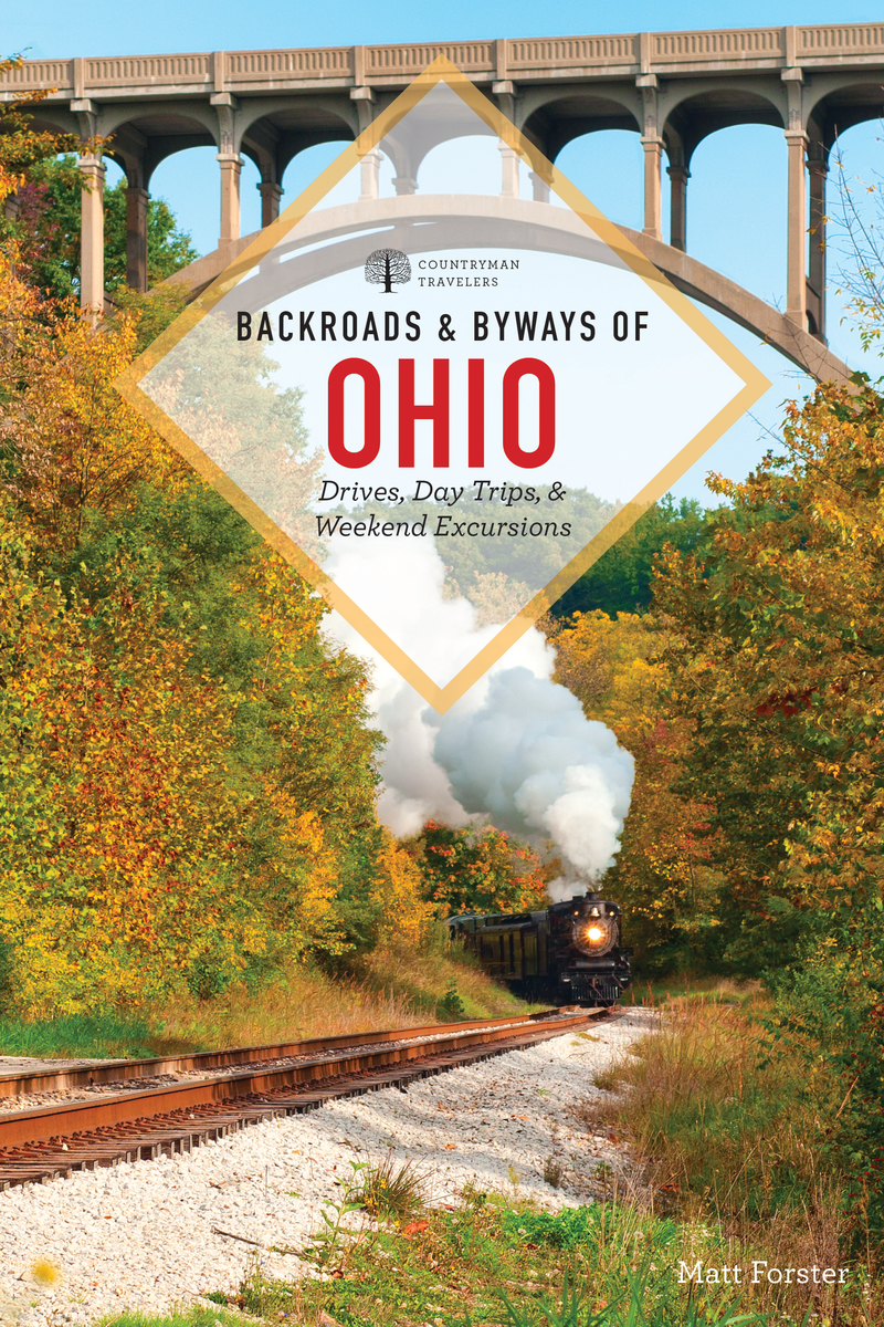 Book cover for Backroads & Byways of Ohio by Matt Forster