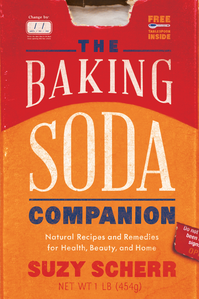 Book cover for The Baking Soda Companion by Suzy Scherr
