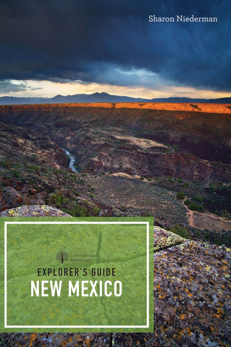 Book cover for Explorer's Guide New Mexico by Sharon Niederman