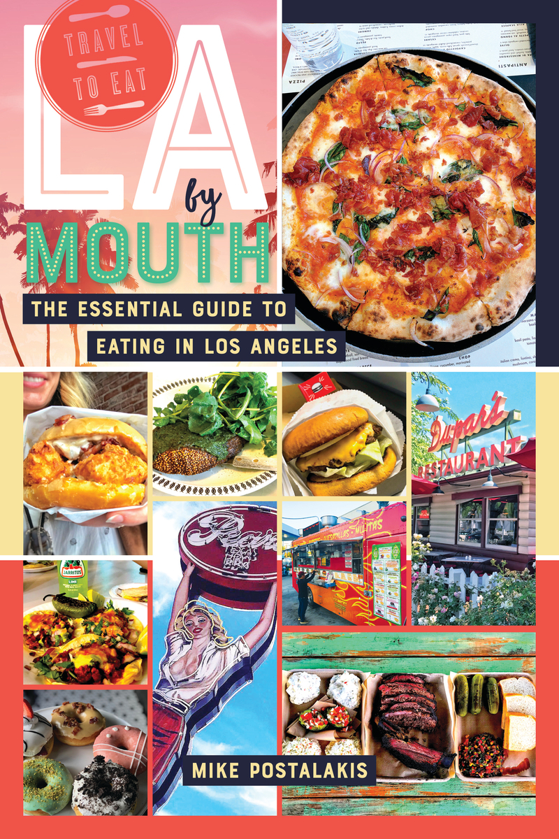Book cover for LA by Mouth by Mike Postalakis
