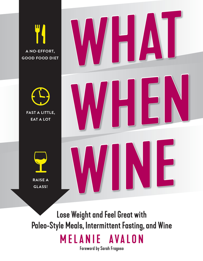 Book cover for What When Wine by Melanie Avalon