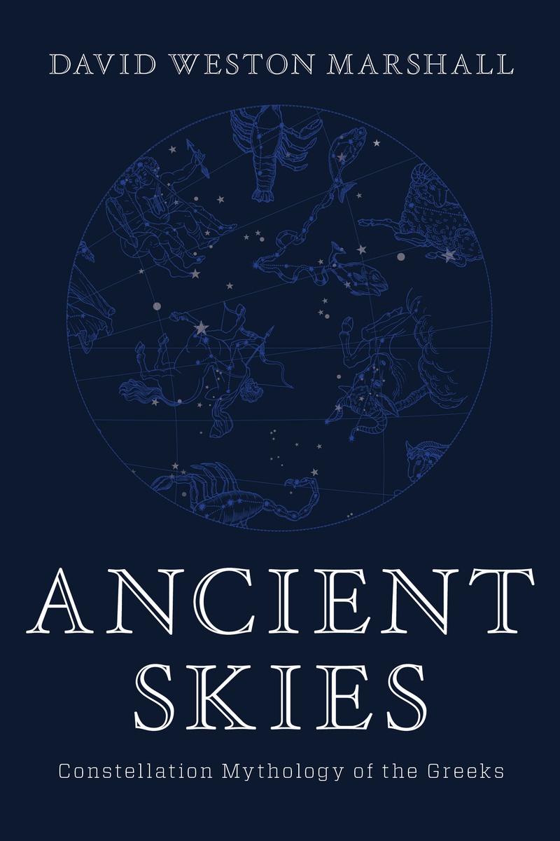 Book cover for Ancient Skies by David Weston Marshall