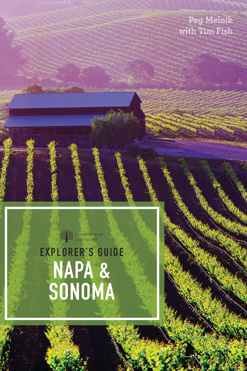Book cover for Explorer's Guide Napa & Sonoma by Peg Melnik
