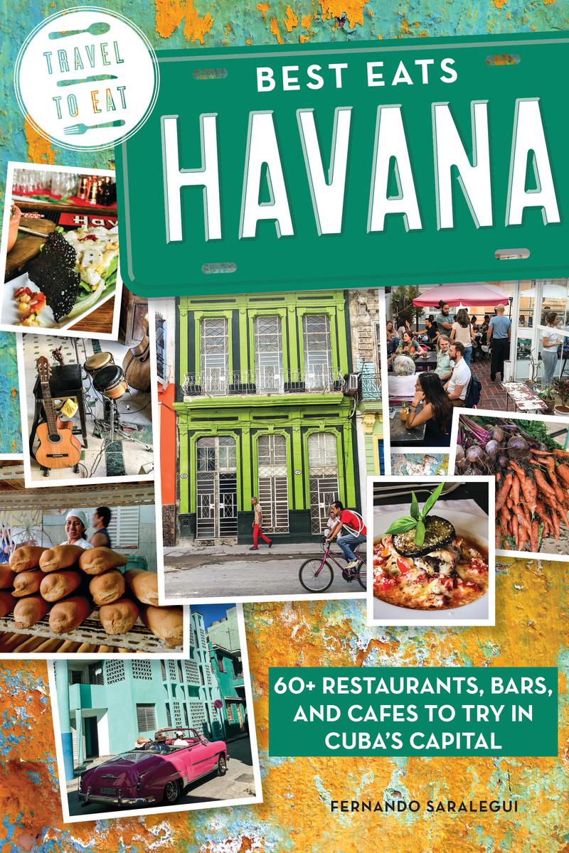 Book cover for Best Eats Havana by Fernando Saralegui