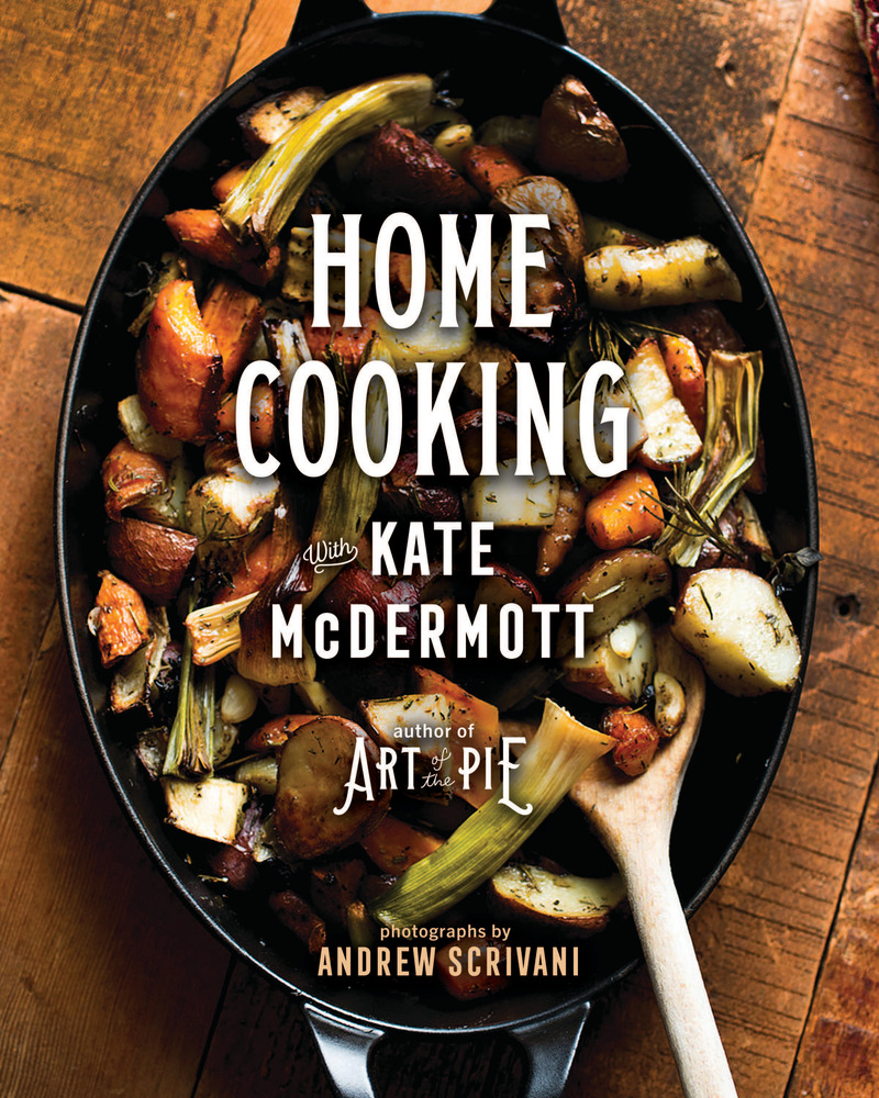 Book cover for Home Cooking with Kate McDermott by Kate McDermott