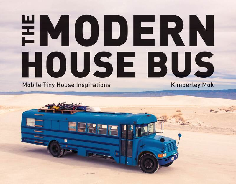 Book cover for The Modern House Bus by Kimberley Mok