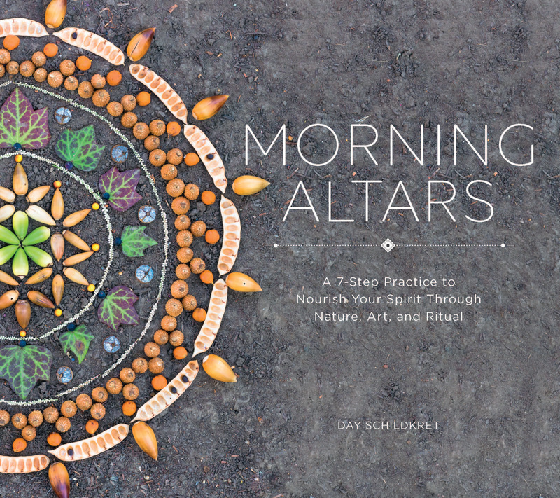 Book cover for Morning Altars by Day Schildkret