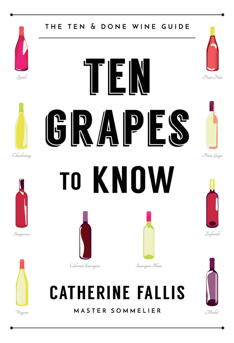 Book cover for Ten Grapes to Know by Catherine Fallis