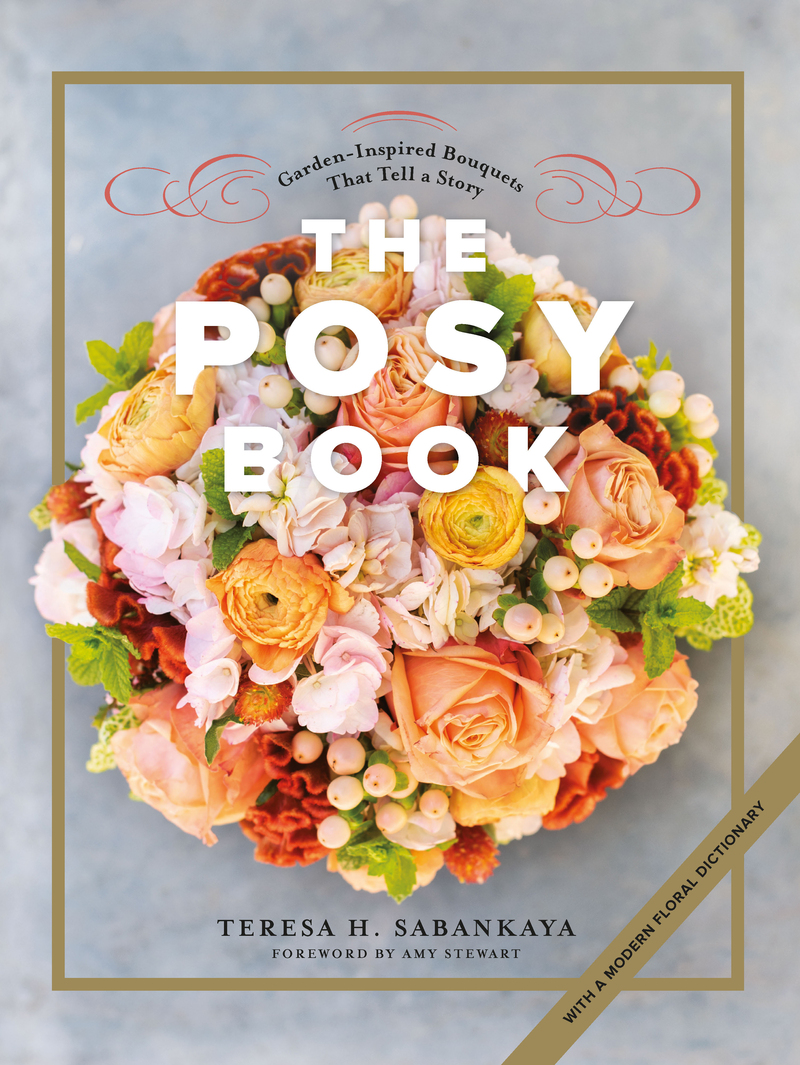 Book cover for The Posy Book by Teresa H. Sabankaya
