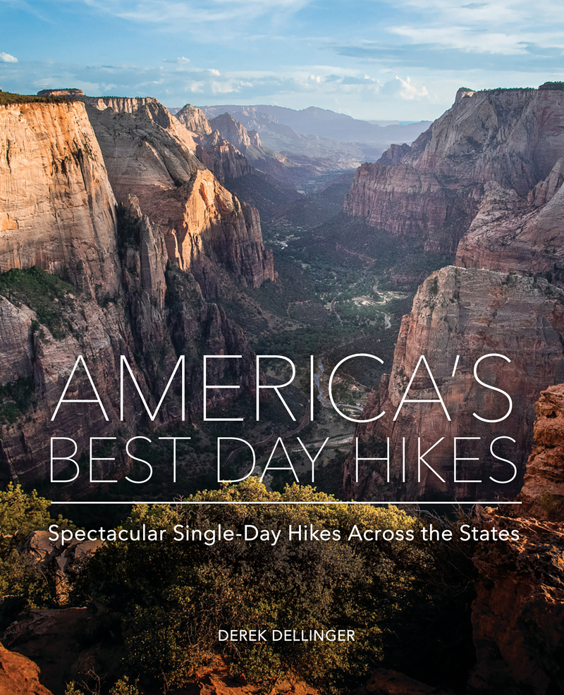 Book cover for America's Best Day Hikes by Derek Dellinger