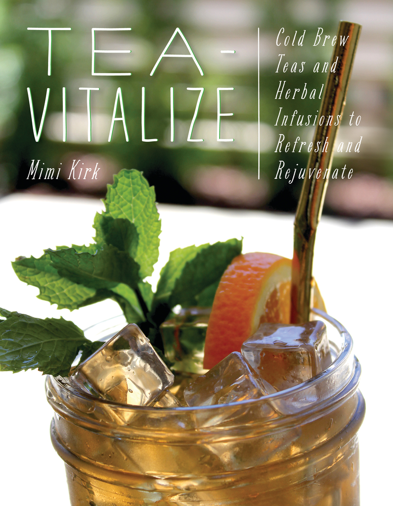 Book cover for Tea-Vitalize by Mimi Kirk