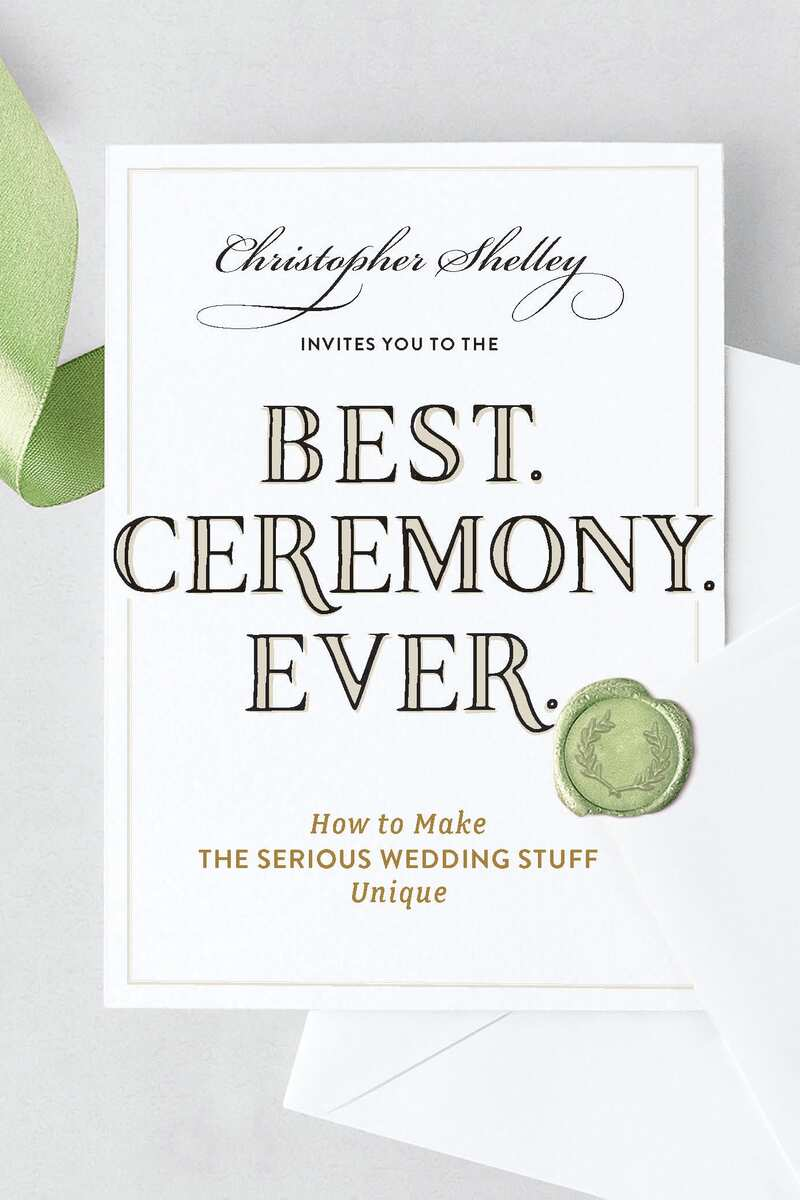 Book cover for Best Ceremony Ever by Christopher Shelley
