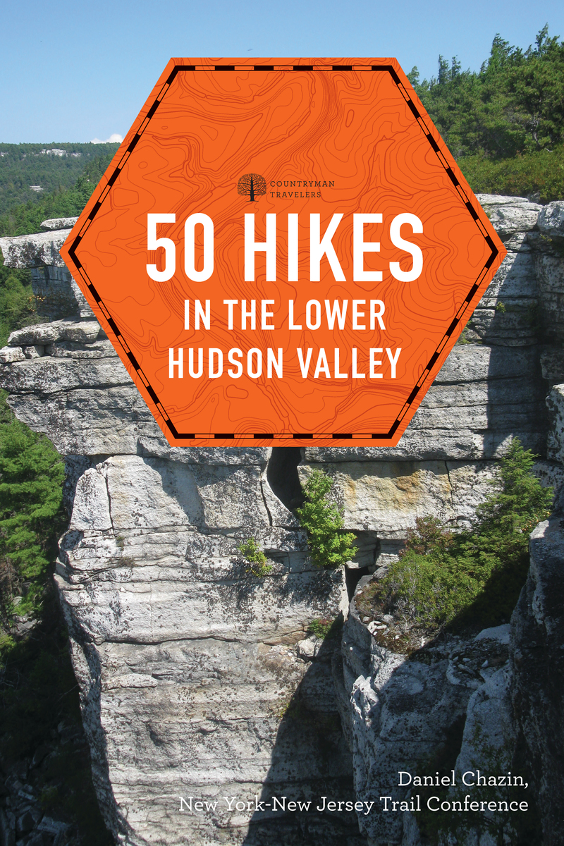 Book cover for 50 Hikes in the Lower Hudson Valley by