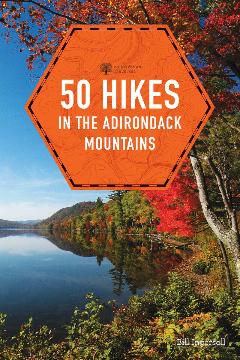 Book cover for 50 Hikes in the Adirondack Mountains by Bill Ingersoll