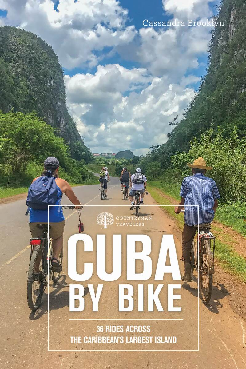 Book cover for Cuba by Bike by Cassandra Brooklyn