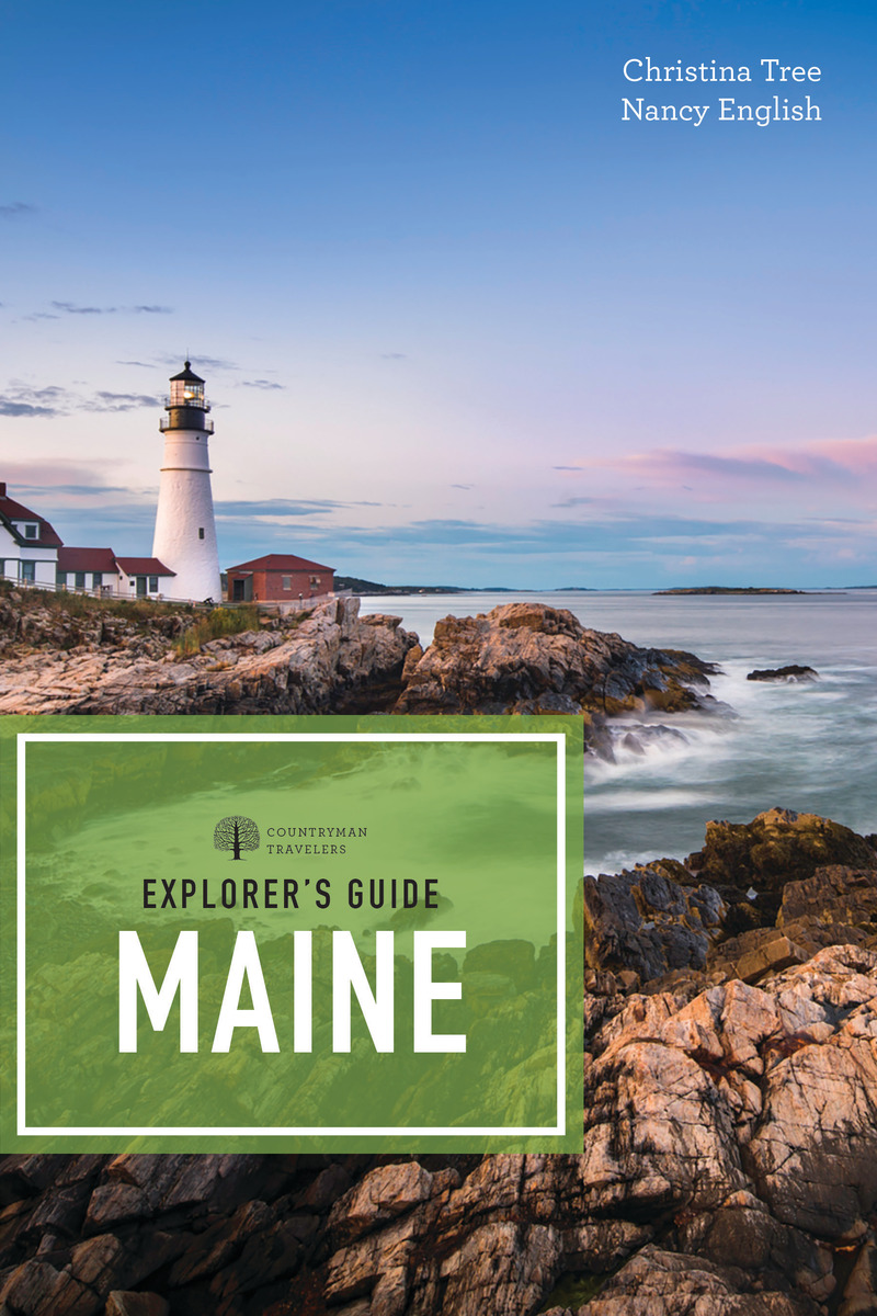 Book cover for Explorer's Guide Maine by Nancy English