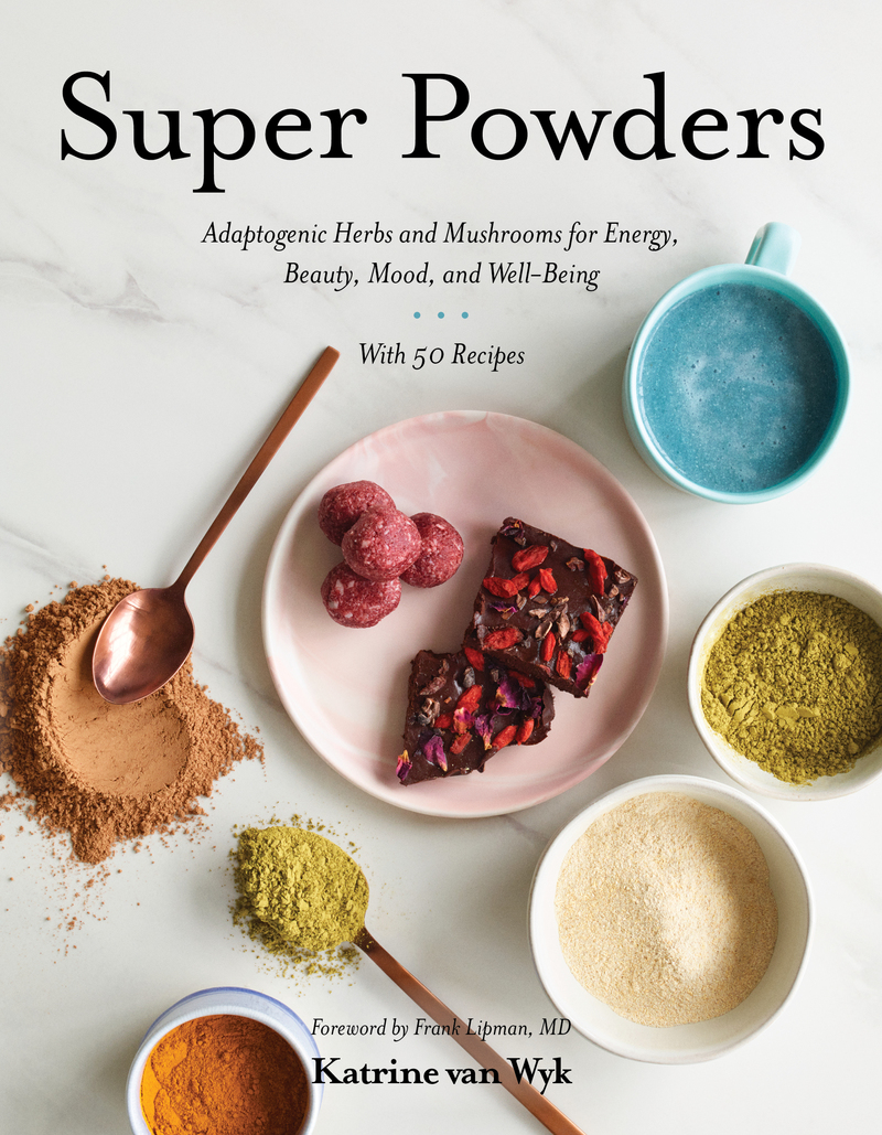 Book cover for Super Powders by Katrine Van Wyk