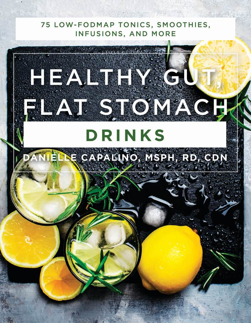 Book cover for Healthy Gut, Flat Stomach Drinks by Danielle Capalino