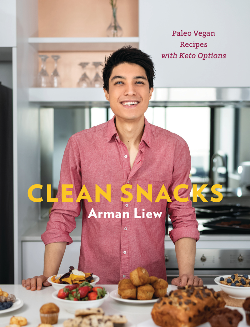 Book cover for Clean Snacks by Arman Liew