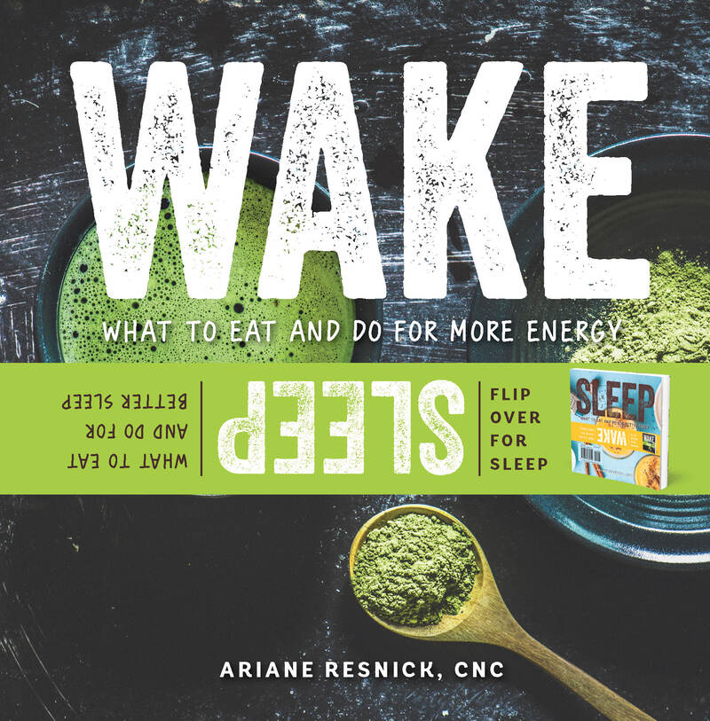 Book cover for Wake/Sleep by Ariane Resnick