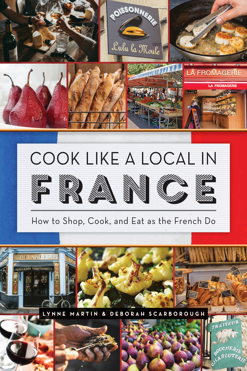 Book cover for Cook Like a Local in France by Lynne Martin