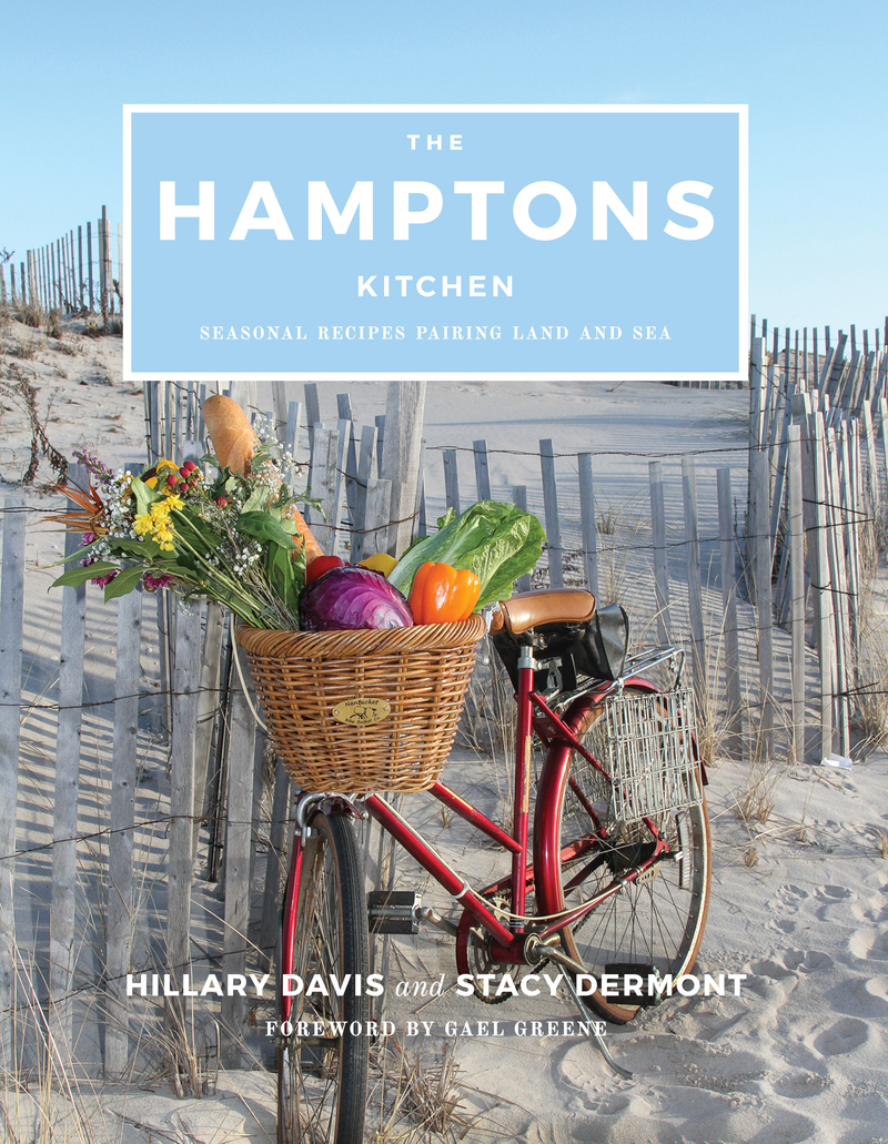 Book cover for The Hamptons Kitchen by Hillary Davis
