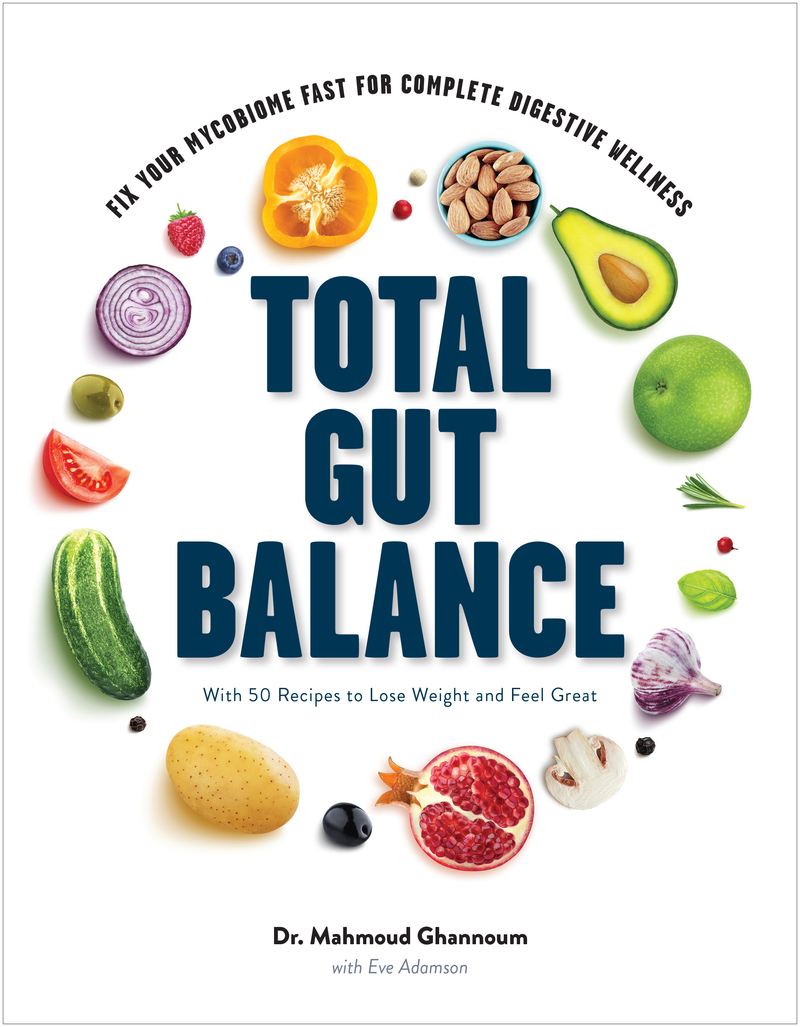 Book cover for Total Gut Balance by Mahmoud Ghannoum