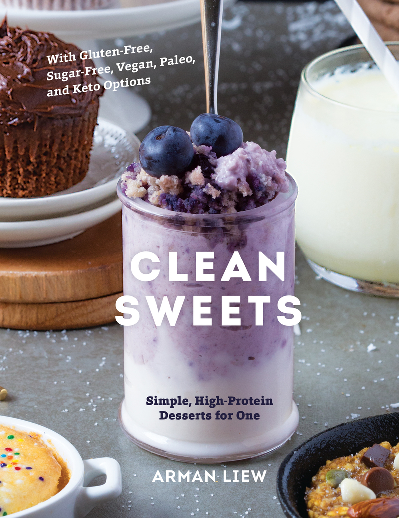 Book cover for Clean Sweets by Arman Liew