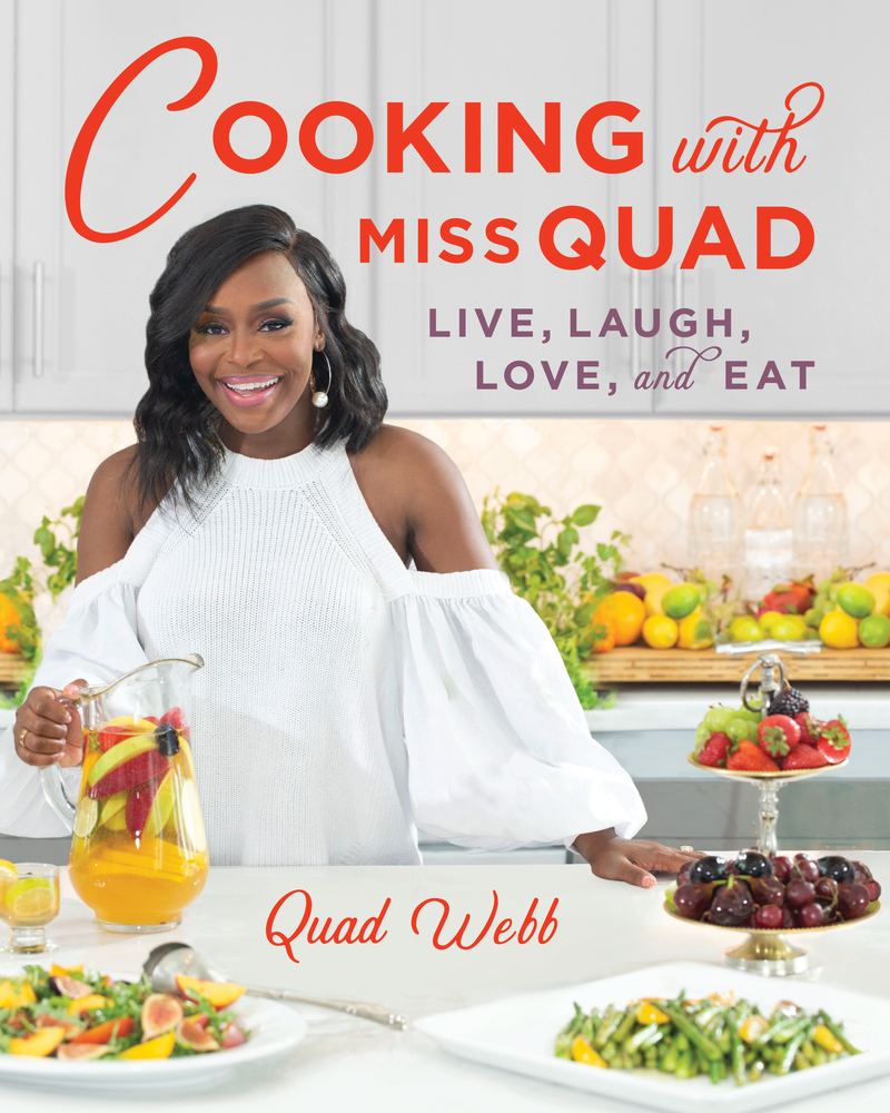 Book cover for Cooking with Miss Quad by Quad Webb