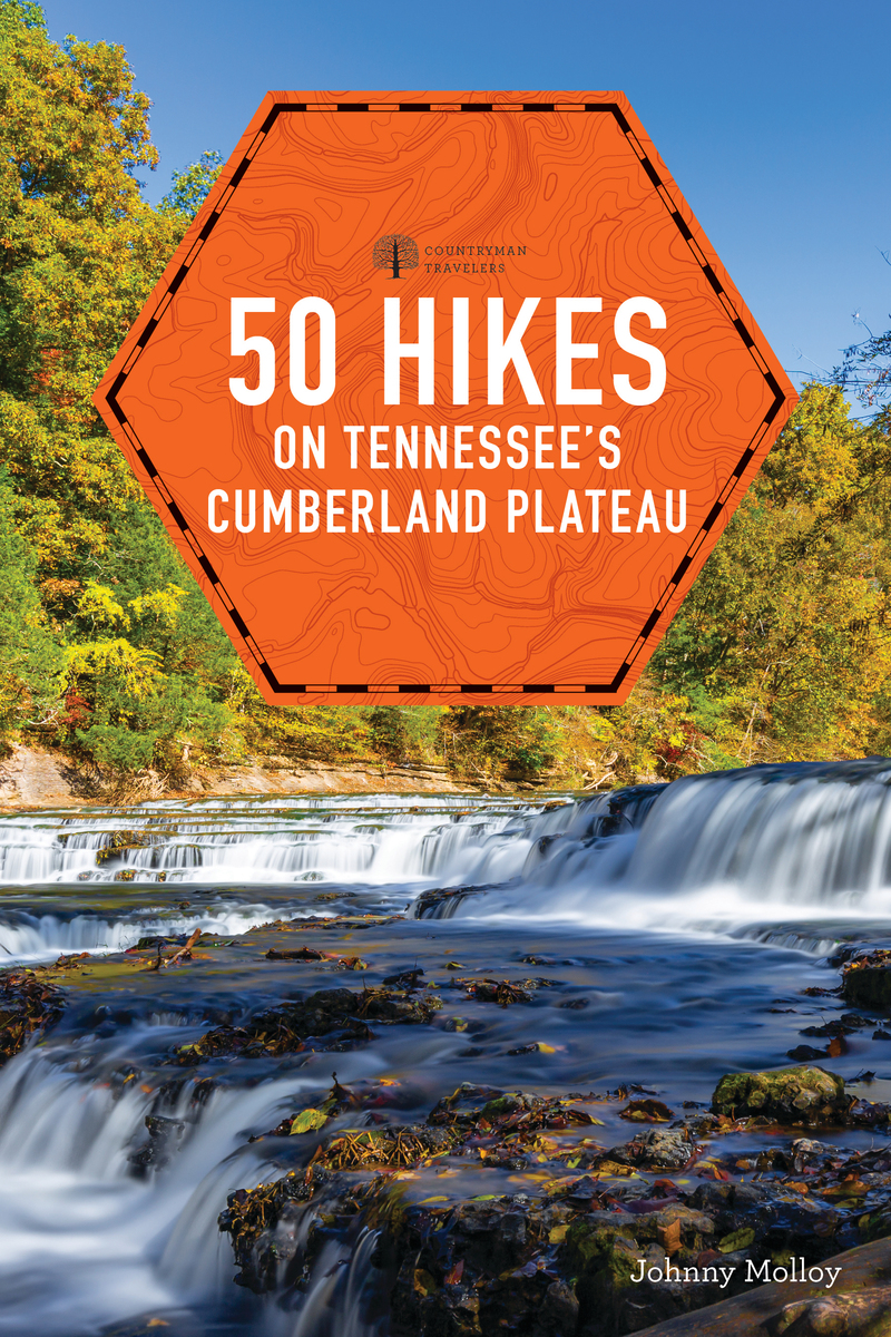 Book cover for 50 Hikes Tennessee's Cumberland Plateau by Johnny Molloy