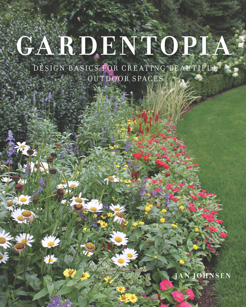 Book cover for Gardentopia by Jan Johnsen