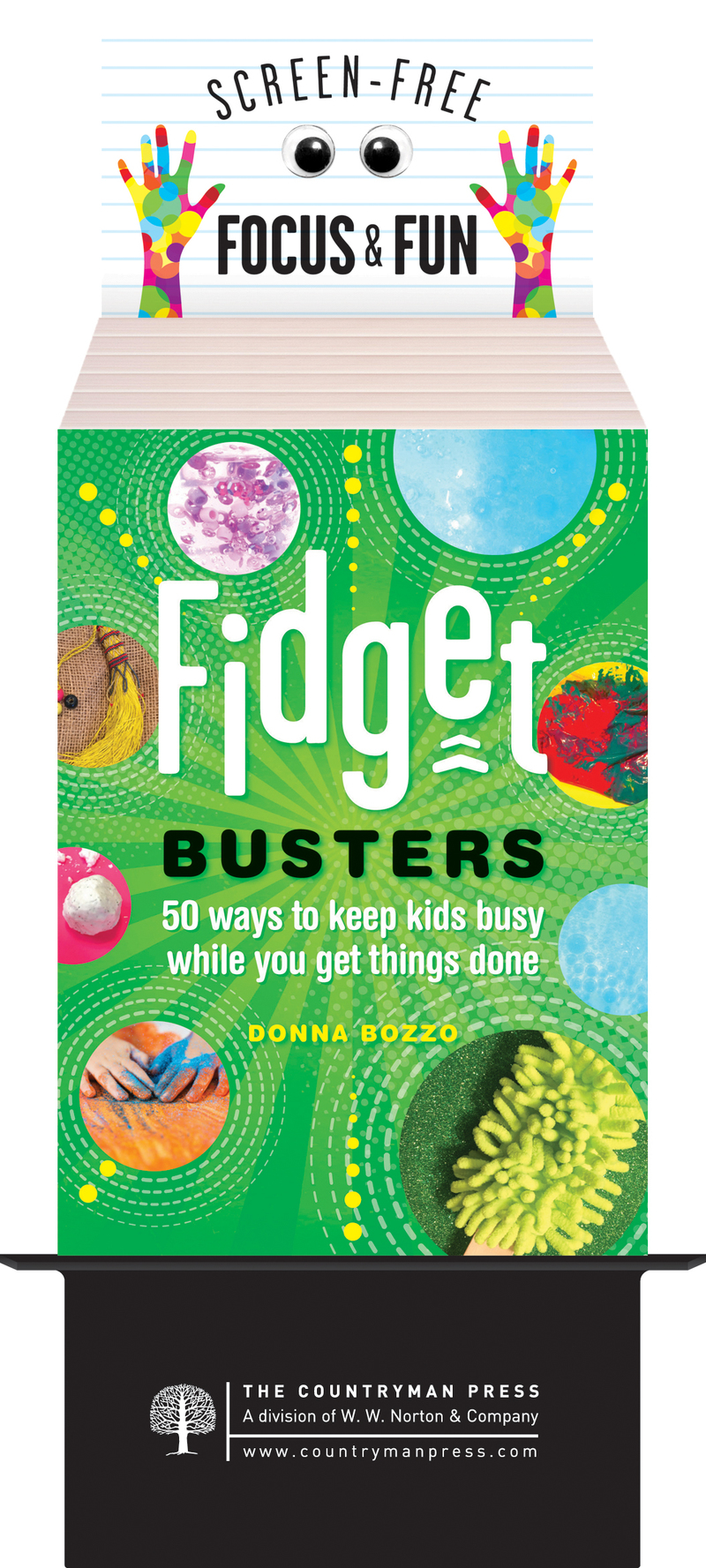 Book cover for Fidget Busters by Donna Bozzo