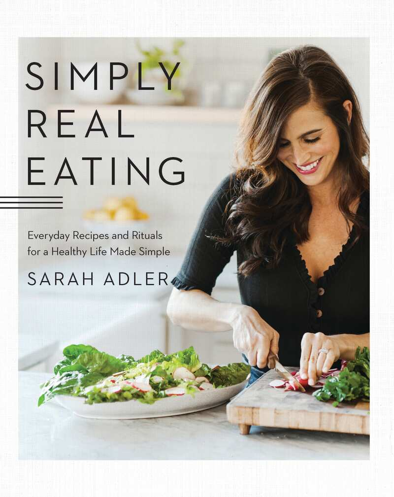 Book cover for Simply Real Eating by Sarah Adler