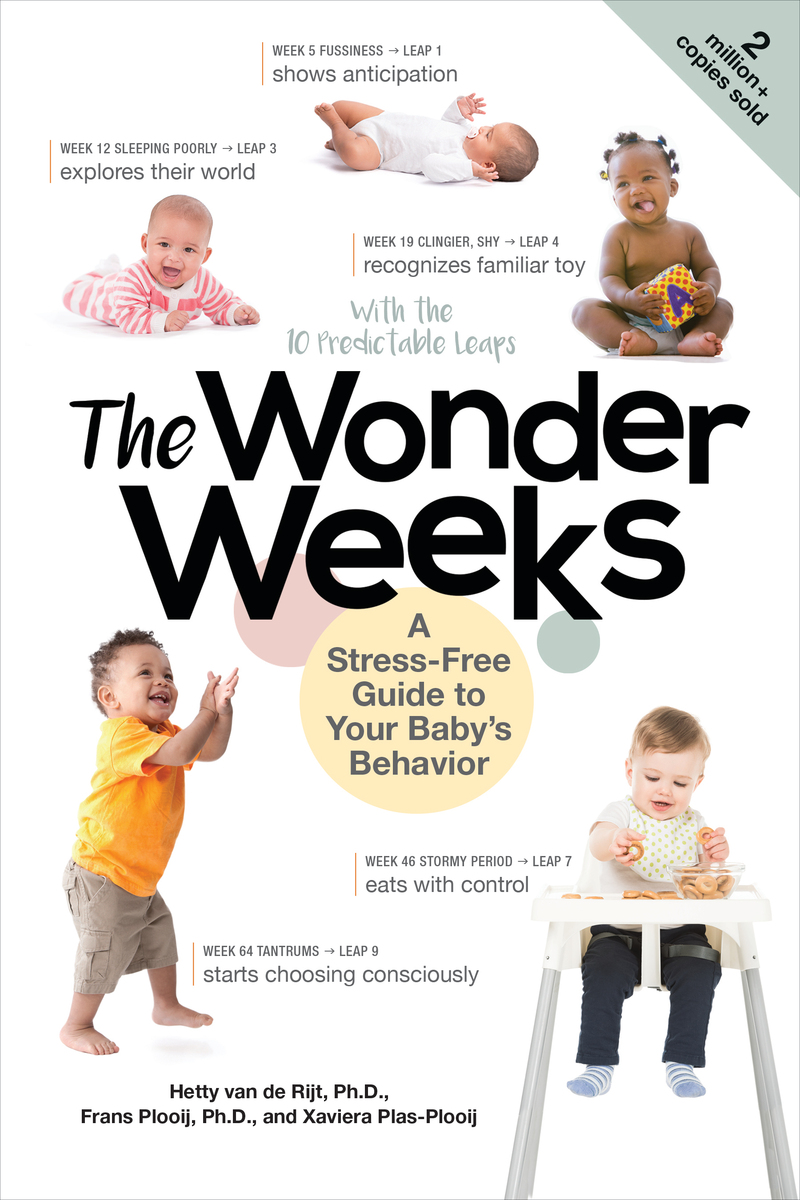Book cover for The Wonder Weeks by Xaviera Plas-Plooij