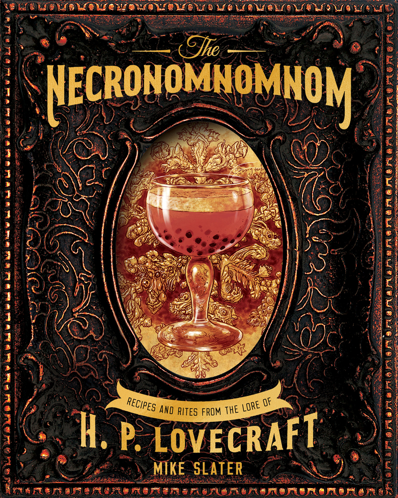 Book cover for The Necronomnomnom by