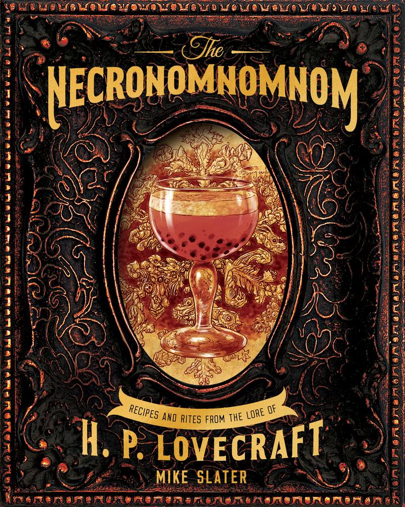 Book cover for The Necronomnomnom by