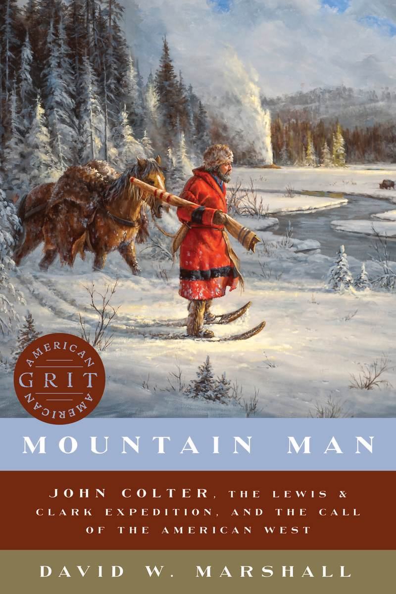 Book cover for Mountain Man by David Weston Marshall
