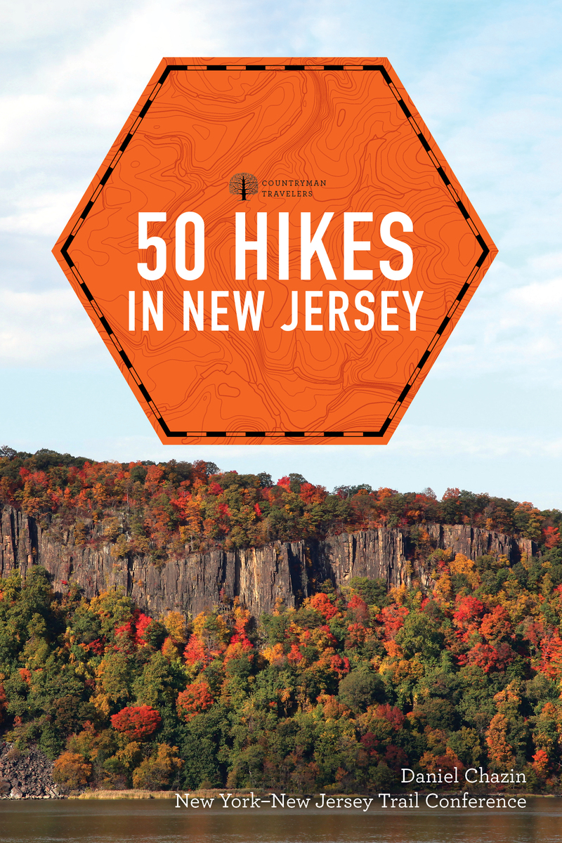 Book cover for 50 Hikes in New Jersey by